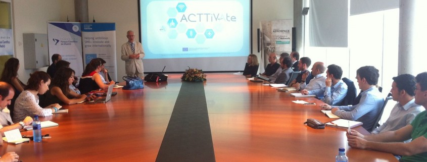 Eugenio Fontán presents ACTTiVAte project in Madrid